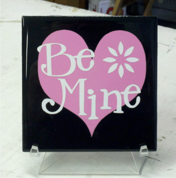Be Mine 2 color vinyl
