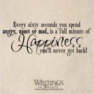 Every sixty seconds...