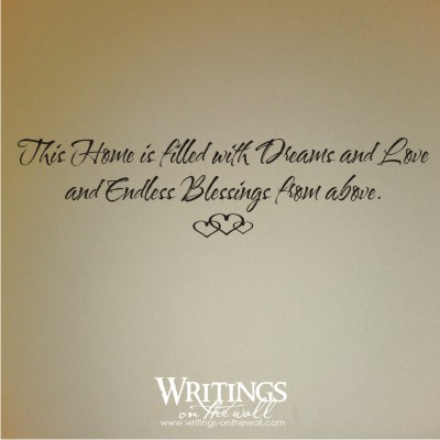 This home is filled with dreams and love