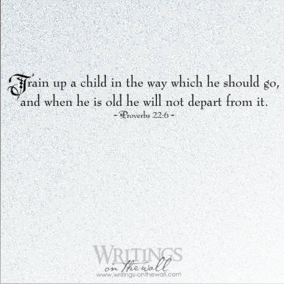 Train up a child in the way which he should go
